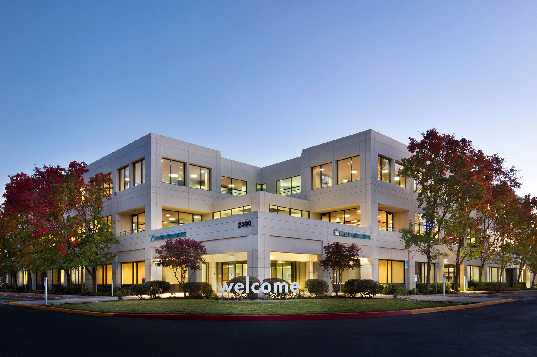 First LEED Gold Certified project in Northern California for Kaiser (Kaiser Bishop Ranch, San Ramon)