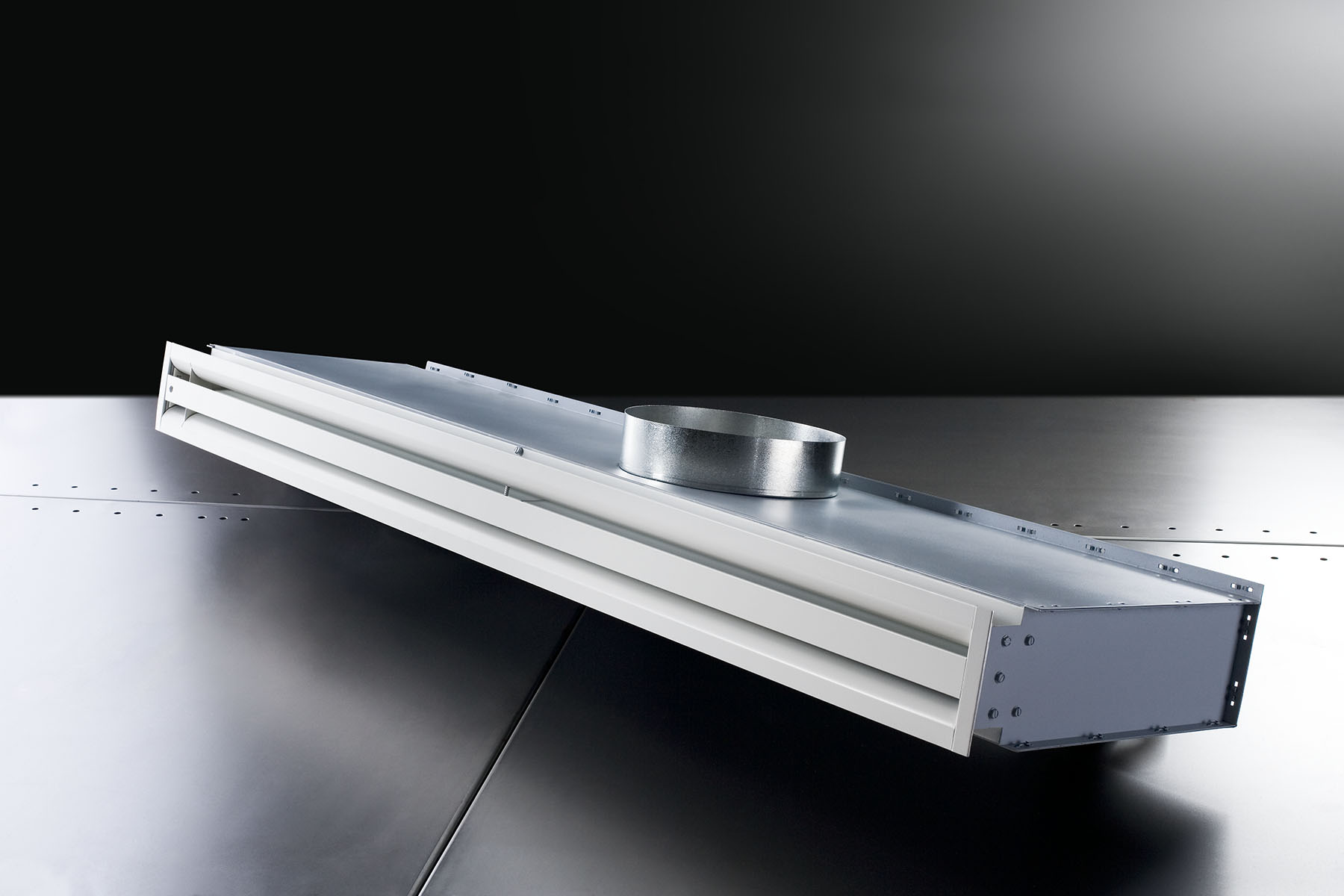 First continuous linear thermally powered diffuser (TLC)